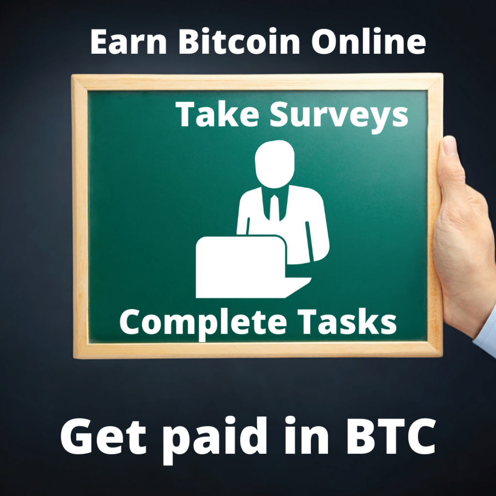 Earn Bitcoin and ETH TimeBucks Earn BTC On-line for taking surveys and completing easy tasks. Get paid out in BTC daily.