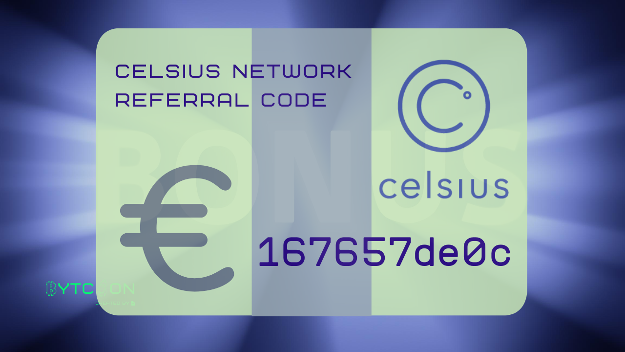 Join Celsius Network using my referral code 167657de0c when signing up and earn $20 in BTC with your first deposit of $200 or more! #UnbankYourself