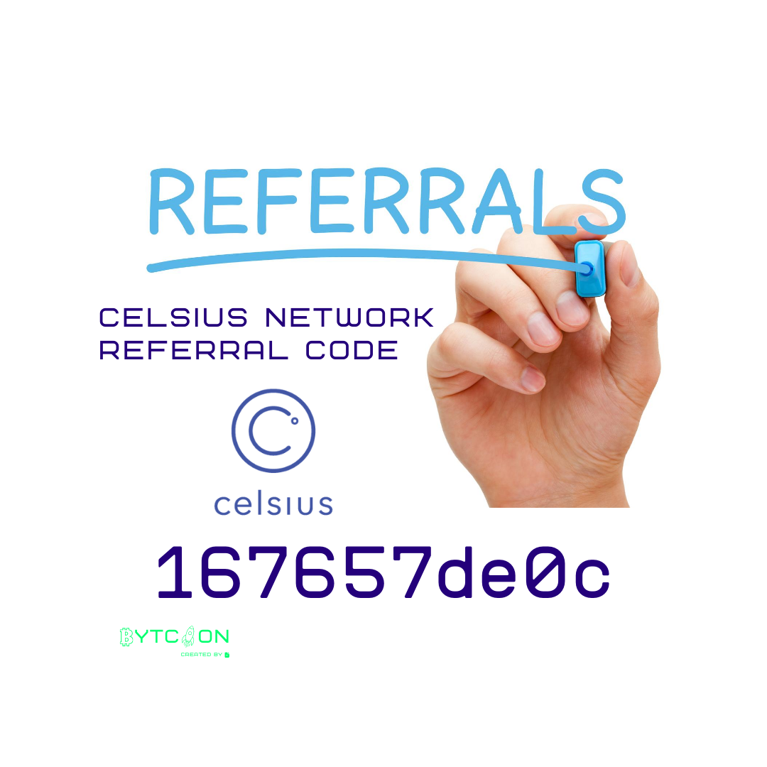 Bonus Crypto Join Celsius Network using my referral code 167657de0c when signing up and earn $20 in BTC with your first deposit of $200 or more! #UnbankYourself