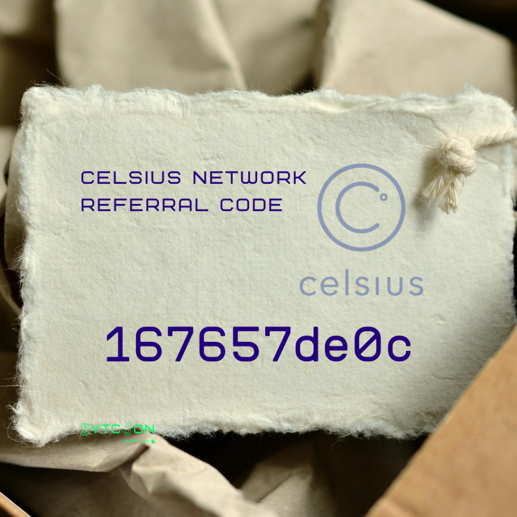 My Bitcoin Join Celsius Network using my referral code 167657de0c when signing up and earn $20 in BTC with your first deposit of $200 or more! #UnbankYourself